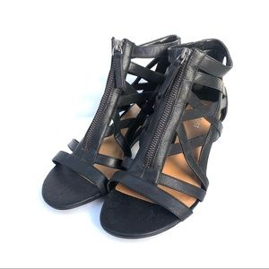 Nine West Honora Gladiator Wedge Sandal